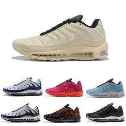 2019 nuovo arrivo Plus Tuned White Navy ibrido sportivo da uomo tennins Lover scarpe da corsa donna sport sneaker in Offerta