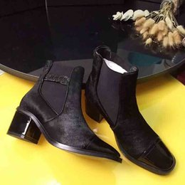 $enCountryForm.capitalKeyWord NZ - 2019 Super Hot Designer Martin Boots, Star Show Leather Nude Boot, Shop Synchronization Boots, Thick-heeled Boots, Winter Women's Boots