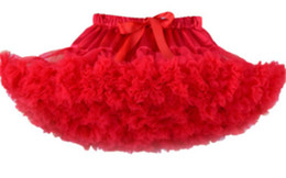 wholesale tutus Australia - Childrens Mesh Dress Tutu Princess Dress Girls Skirt Tutus Skirt Dance Dresses Full Skirt Autumn And Winter Christmas Kids Clothing