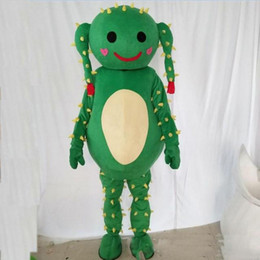 $enCountryForm.capitalKeyWord NZ - Halloween Cactus Mascot Costume Top Quality Cartoon Green plant dolls Anime theme character Christmas Carnival Party Costumes