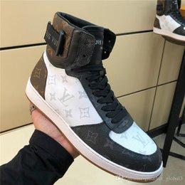 Heißer Rivoli Sneaker Boot 1A44VV Männer Luxus Turnschuhe Designer Schuhe Leder Männer Stiefel Hohe Qualität Großhandel Größe 39-45 im Angebot