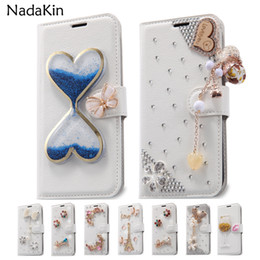 $enCountryForm.capitalKeyWord NZ - Rhinestone Leather Flip Case for Motorola Moto G G2 G3 G5 E2 E3 E4 Power X X2 X3 Lux Z2 Force Play G4 G5 C E5 G6 Plus Play Cover