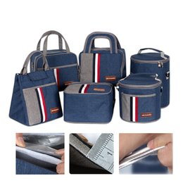 $enCountryForm.capitalKeyWord NZ - Portable lunch bag Fashion student picnic high-grade ice pack rice box wholesale custom insulation bag bento bag