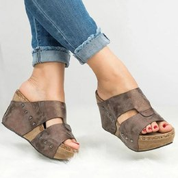 $enCountryForm.capitalKeyWord Canada - Summer High Heels Shoes Women Wedges Platform Sandals Slippers Gladiator Open Toe Slides Ladies Big Size Footwear Zapatos Mujer