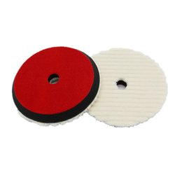 "detail brushes Australia - Cloths & Brushes 6"" 150mm Car Auto Soft Wool Buffing Polishing Pad Professional Detailing Mixed Color"