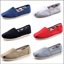 Green Gingham Australia - DORP shipping 2019 Wholesale New Brand Women and Men Fashion Sneakers Canvas Shoes loafers Flats Espadrilles Glitter shoes Size 35-45