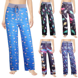 $enCountryForm.capitalKeyWord Australia - Vertvie Fashion Women Wide Leg Pants Casual Printed Gym Workout Fitness Pants Loose Long Elastic Trousers Sexy Ladies Plus Size