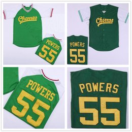 2d2d6591386 Mens Kenny Powers Eastbound and Down Mexican Charros Baseball Jersey Green  Eastbound   Down Kenny Powers  55 Cheap Stitched Jerseys Shirts