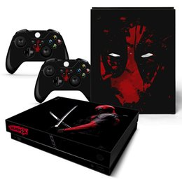 xbox one sticker Australia - Fanstore Skin Sticker Protector Decal for Xbox One X Console and 2 Remote Controller Cool Design