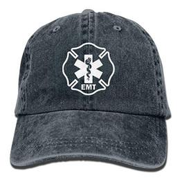 $enCountryForm.capitalKeyWord NZ - 2019 New Cheap Baseball Caps Mens Cotton Washed Twill Baseball Cap EMT Shield First Responder Military Hat