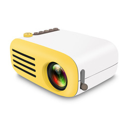 Mini Video Proyector Australia - AAO Portable Mini LCD LED Projector YG200 YG-200 400-600LM 1080p Video 320 x 240 Pixel Best Home Wireless Remote Control Proyector