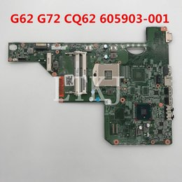 Hp Cq62 Laptop Australia - High quality For G62 G72 CQ62 Laptop motherboard 605903-001 605903-501 605903-601 HM55 UMA DDR3 100% full Tested