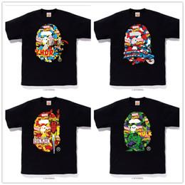 Ripped Black Tee Australia - Women Designer T Shirts Cartoon 3d Print Tshirts Mens Luxury T-shirt Unisex Lover Cotton Short Sleeve Tee Loose Rip Rap Top White Black