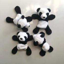 $enCountryForm.capitalKeyWord UK - #15 1Pc Cute Soft Plush Panda Fridge Magnet Refrigerator Sticker Cartoons Decal Gift Souvenir Home Decor Kitchen Accessories