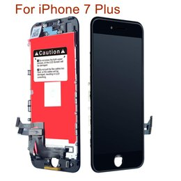 Iphone Screens Australia - Wholesale Grade A+++ For iPhone 7 Plus LCD Screen Display Touch Screen Digitizer Panel Frame Assembly & Free DHL Shipping