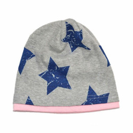 $enCountryForm.capitalKeyWord UK - Baby Hat Autumn Winter Boys Girls Toddler Kids Stars knit Bucket Hats Beanie Warm and Comfortable Six Colors