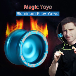 $enCountryForm.capitalKeyWord Australia - 2019 New Metal Yoyo Professional Yoyo Set High-speed Yo yo + Glove + 5 String + Yoyos Bag S2 Yo-yo Classic Toys for Children SH190913