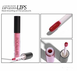 $enCountryForm.capitalKeyWord Australia - 2019 High quality 25 colors FOCALLURE Liquid Lipstick Hot Sexy Colors Lip Paint Matte Lipstick Waterproof Long Lasting Lip Gloss