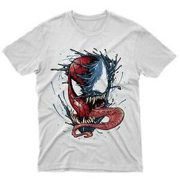 $enCountryForm.capitalKeyWord Australia - Fm10 T Shirt Venom vs Spiderman Mens Womens Boys Gift Idea Cinema TV