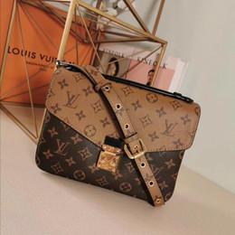 2019 Бесплатная доставка! Модная женская сумка из натуральной кожи Metis через плечо M40780 25 x 19 x 9 см на Распродаже