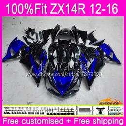 $enCountryForm.capitalKeyWord Australia - Injection For KAWASAKI NINJA ZX 14R ZZR 1400 ZX14R 12 13 14 15 16 Blue black 73HM.17 ZZR1400 ZX-14R 2012 2013 2014 2015 2016 OEM Fairing