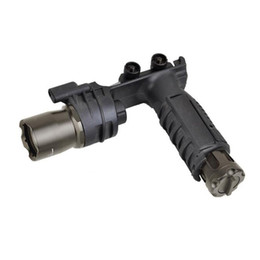 Tactical CREE LED M910A Flashlight with Picatinny Weaver Mount Foregrip & Flashlight Combined on Sale