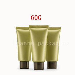 $enCountryForm.capitalKeyWord NZ - 60G Empty Cosmetic Containers Plastic Tubes Used for Foam Cleanser, Hand Cream Container Refillable Tube Plastic Squeeze Tubes