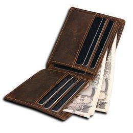 $enCountryForm.capitalKeyWord Australia - RFID Blocking Wallet Men Genuine Cow Leather Vintage Purses Identity Theft Protection Money Bag Cards Holder Clutch Wallets #302324