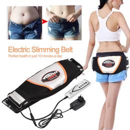 Vibrate belt online shopping - Abdominal Massage Electric Vibrating Massager Slimming Belt Burning Fat Weight Losing Vibration Health Care EU Plug Y181122