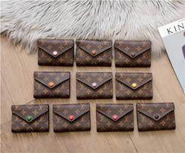 Yeni standart cüzdan uzun çanta polikromatik para çantası fermuar kese çok renkli sikke cep not bölmesi 41938