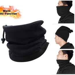 Discount skiing face protectors - Sports Scarf Neck Cover Face Balaclava Skiing Multi-Functional Hood Protector Warmer For Men And Women Outdoor Hiking Ru