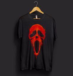 $enCountryForm.capitalKeyWord Australia - Scream Mask Halloween T Shirt Scary Movie Horror Face Funny Ghostface Ghost Dead Short Sleeve Round Neck T-Shirt Promotion