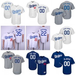 Custom 2019 New Dodgers Jersey A.J. AJ Pollock Corey Seager Turner Kike  Hernandez Clayton Kershaw Cody Bellinger Buehler Martin Jersey Cheap d2d391f888e
