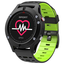 $enCountryForm.capitalKeyWord Australia - DTNO.I F5 GPS Smart watch Altimeter Barometer Thermometer Bluetooth 4.2 Smartwatch Wearable devices for iOS Android