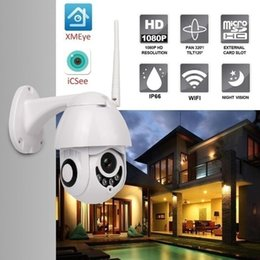 $enCountryForm.capitalKeyWord Australia - PT Wireless IP Camera 1080p Speed Dome CCTV Security Cameras IP Camera WiFi Exterior 2mp Ir Home Surveilance with 32G TF card