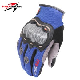 Gloves pro bikers online shopping - PRO BIKER Unisex Wear resisting Full Finger Motorcycle Bicycle Gloves Comfortable And Breathable Color