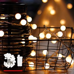 Discount led christmas lights transformer LED String Lights Plug in String Light 100 LED Warm White Globe lights with Timer Waterproof with 30V Low Voltage Transf