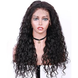 $enCountryForm.capitalKeyWord Australia - Malaysian virgin Human full lace Hair Wigs kinky curly with Baby Hair pre plucked Lace Front Wigs For Black women with natural hairline