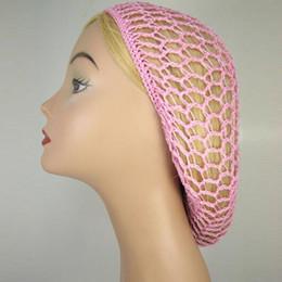 $enCountryForm.capitalKeyWord Australia - 1 PCs Fashion Women Ladies Hair Net Accessories Soft Rayon Snood Hair Net Colorful Crocheted Popular