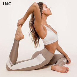 $enCountryForm.capitalKeyWord NZ - 2017 Hot Sales Patchwork Yoga Pants For Women Breathable Yoga Leggings Elastic Workout Gym Pants Running Tights Activewear