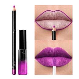 $enCountryForm.capitalKeyWord Canada - F.Lashes Waterproof Long Lasting Matte Liquid Lipstick Vivid Colorful Beauty Lip Gloss Sets Lip Liner Cosmetics Set Makeup
