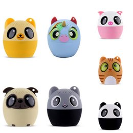 Portable animal sPeakers online shopping - Mini Speaker Portable Animal Wireless Player Support Hands free Calls car