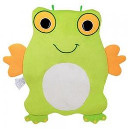 Wholesale Summer baby Frog crawl mats Baby creative Green Frog game blanket pad Lovey Baby Security Blanket Activity Toy TTA152