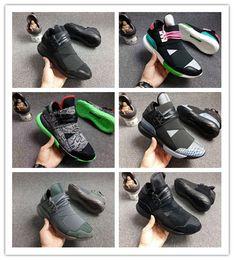 Y3 Couple Shoes Australia - Wholesale 12 Colors Y-3 QASA RACER Hight Casual  Shoes 510934ed5