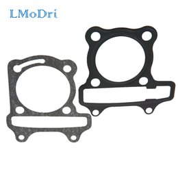 engine gasket set Australia - LMoDri Motorcycle Scooter GY6 Cylinder Gasket Set Cushion Pad GY6 50cc 60cc 80cc 90cc 125cc 150cc Engine Moped
