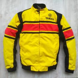yamaha gear 2019 - 2019 MOTOGP 50-year Anniversary Yellow Jacket For YAMAHA Racing Team Summer Mesh Breathable Clothing With 5 Protective G