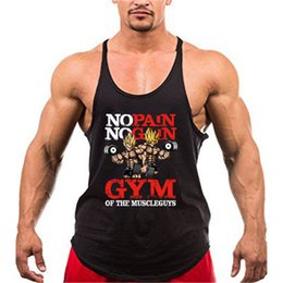 ea6d1e06bbe740 Funny Gym Tank Tops Australia - Bodybuilding Dragon Ball Tank Men Anime  Funny Summer Tops Pain