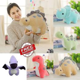 $enCountryForm.capitalKeyWord Australia - Cute Cartoon Animal Dinosaur Plush Toy Stuffed Dolls Home Car Throw Pillows