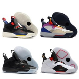 christmas gift shoes NZ - Mens Christmas Gift Fashion 33 33s Basketball Shoes XXXIII Basketball Shoes Jade Bred Guo Ailun Mens Designer Trainers Sports Shoes US7-12