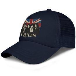 British Cap UK - History British rock band Queen tour mens guys Sport snapback hat High Quality adjustable women dance cap graphic baseball cap mesh summer
